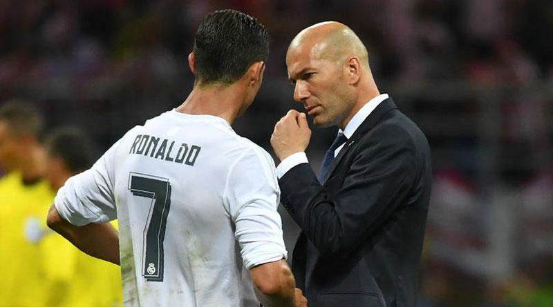 Zidane Saya Berharap Ronaldo Bertahan di Real Madrid