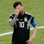 Gagal Eksekusi Pinalti, Messi Merasa Kecewa Berat