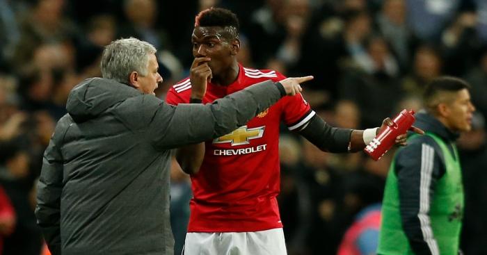 Paul Pogba Sering Beda Pendapat dengan Jose Mourinho