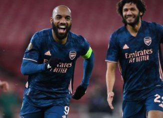 Arsenal Vs Rapid Wina. The Gunners Menang Sempurna!